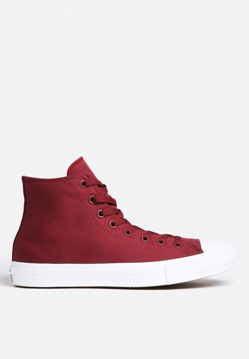 a531cb6cc79 Converse CTAS II Hi -150144C - Bordeaux Converse Sneakers ...