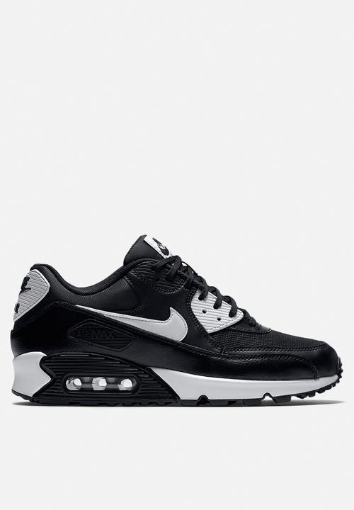 13e857c7b2 Nike W Air Max 90 ESS - 616730-023 - Black / Metallic Silver / White ...