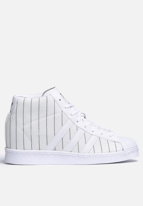 9b57693c9817e adidas Originals Superstar Up - S79382 - White / Pinstripe adidas ...
