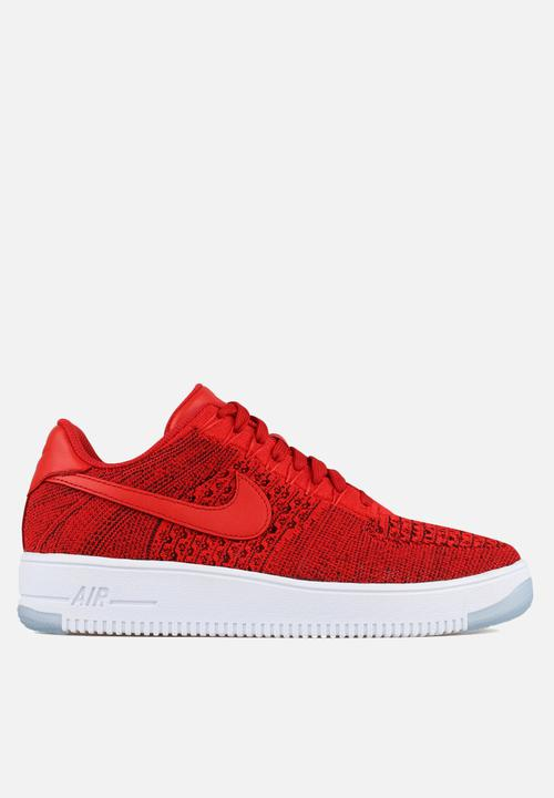 7c4bbd83df8e Nike Air Force 1 Ultra Flyknit Low - 817419-600 - University Red ...