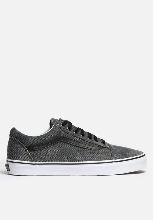 519ec38879 Vans Old Skool - Acid Denim - Navy Black Vans Sneakers