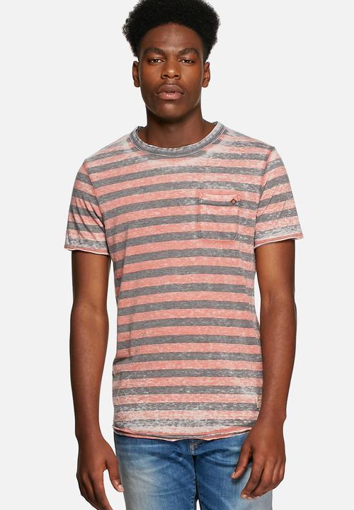 61c71d50 Clark stripe tee - ketchup Jack & Jones T-Shirts & Vests ...