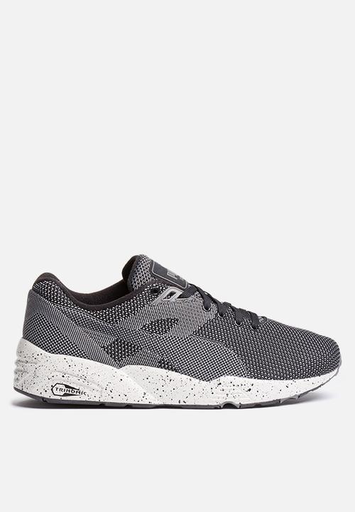 puma trinomic r698 knit mesh v2 361659 01 black puma sneakers rh superbalist com
