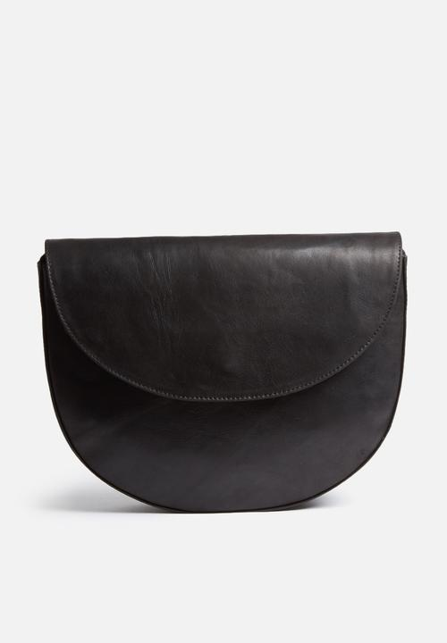 Vicky crossbody leather bag-black FSP Collection Bags   Purses ... 892b6adcc63