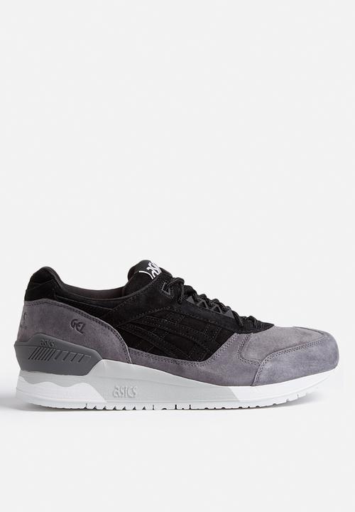 Asics GelRespector  H6U1L9090  Black Grey Asics Tiger Sneakers    Superbalist