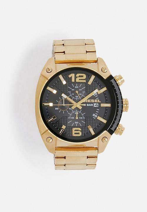 Overflow Dz4342 Gold Diesel Watches Superbalist Com