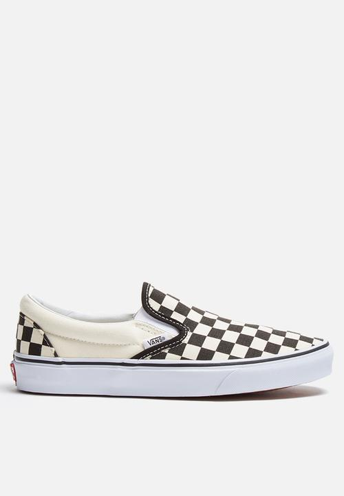 14757863387 Vans Classic Slip-On - Checkerboard Vans Sneakers
