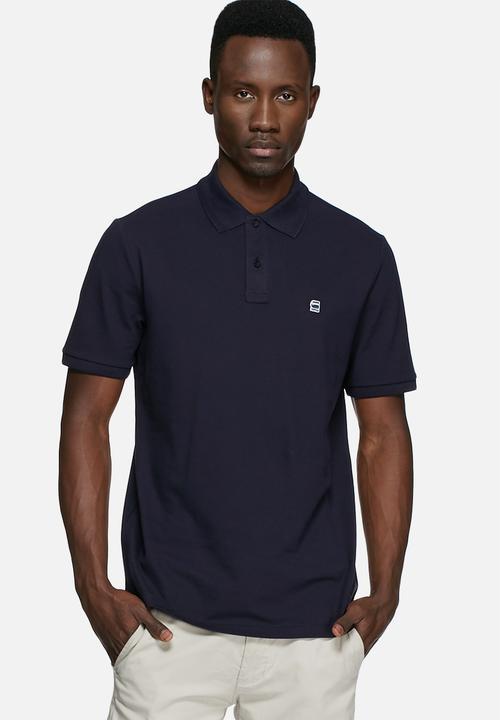 52eb43414f4 Dunda polo -blue premium stretch G-Star RAW T-Shirts & Vests ...