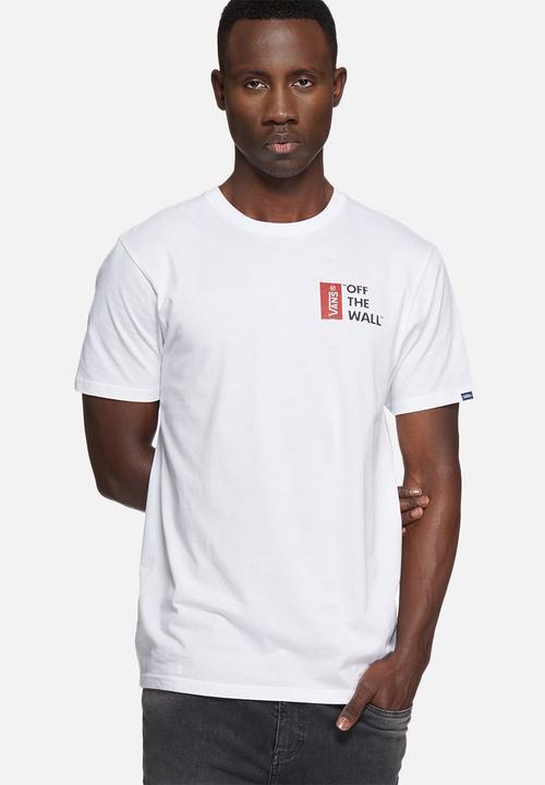 ae895b7444 Vans OTW tee III - white Vans T-Shirts   Vests