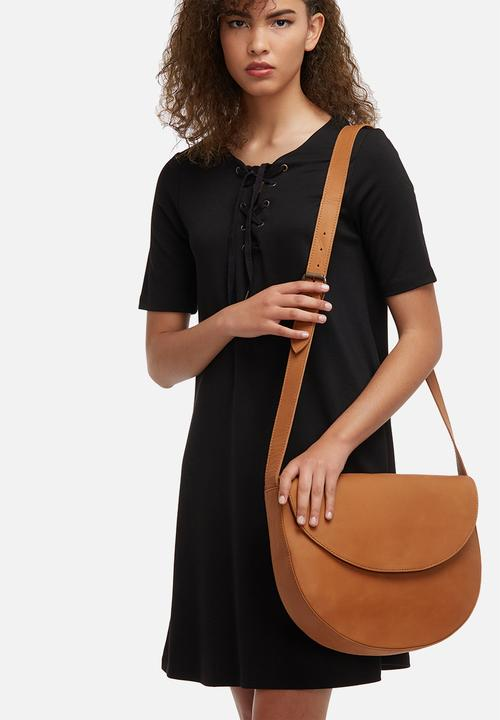 Vicky leather crossbody bag- Butterwallnut FSP Collection Bags ... f15024dad65