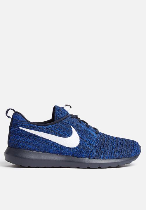 79a6831f8818f Nike Roshe One NM Flyknit - 677243-404 - Dark Obsidian   Racer Blue ...