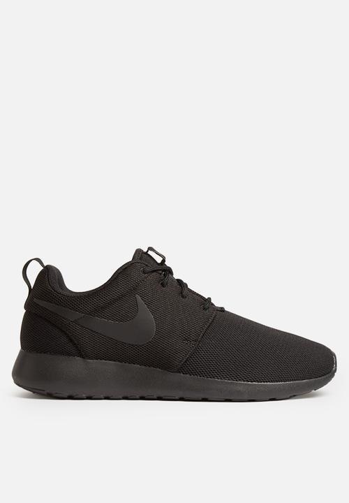 39caa6d4324e Nike W Roshe One - 844994-001 - Black   Black Nike Sneakers ...