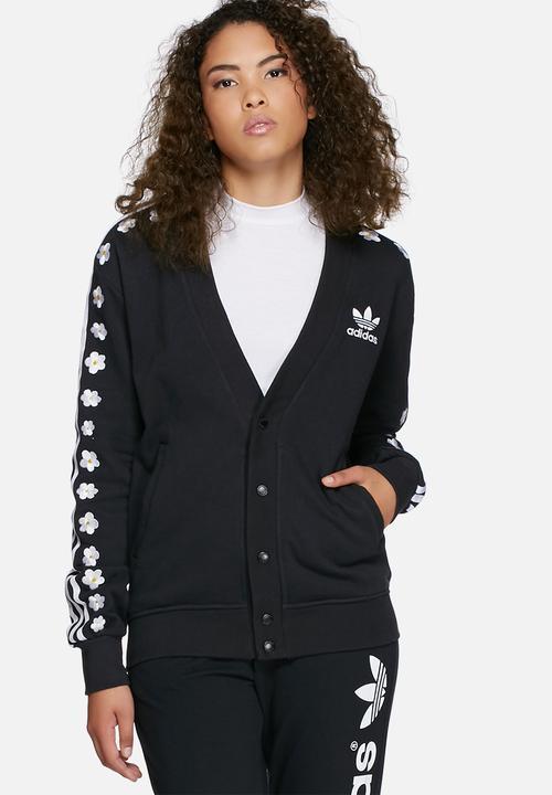 74b2979774f8 Pharrell Williams cardigan track jacket - black adidas Originals ...