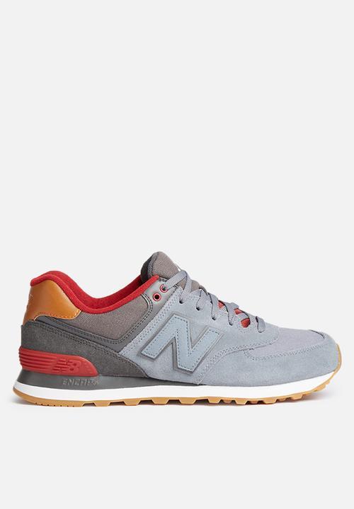 15f3da56541 New Balance ML574NEB - Grey - New England New Balance Sneakers ...