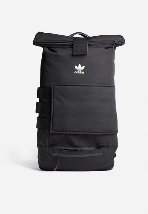 Rollup bag - black adidas Originals Bags   Wallets  3f5f65029e2fe