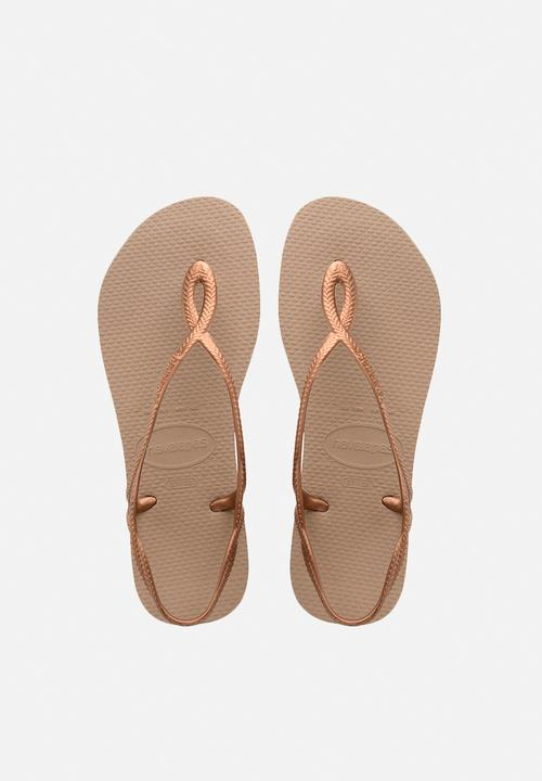 a9cbe33db Luna - rose gold Havaianas Sandals   Flip Flops
