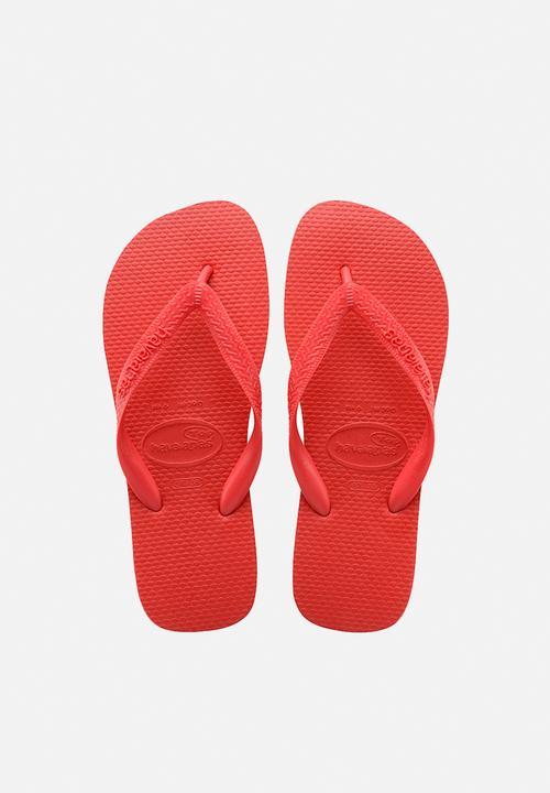 0e03f92e4 Top - ruby red Havaianas Sandals   Flip Flops