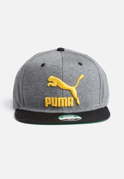 LS Colour block Snapback - Grey PUMA Headwear  3fc05ba8082
