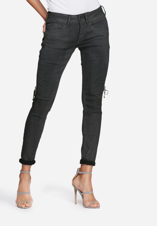 8601abab4c2 Lynn ansem mid skinny - cobler smash G-Star RAW Jeans
