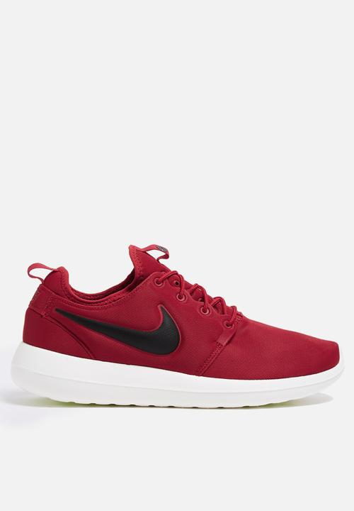 6de807a6080cc Nike Roshe Two - 844656-600 - Gym Red   Black   Sail Nike Sneakers ...