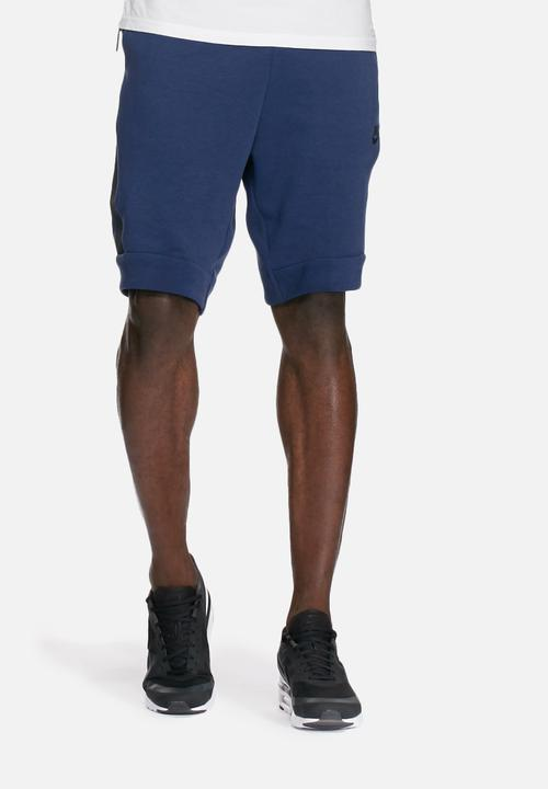 Tech fleece shorts - blue Nike Sweatpants   Shorts  1376c61d2d90