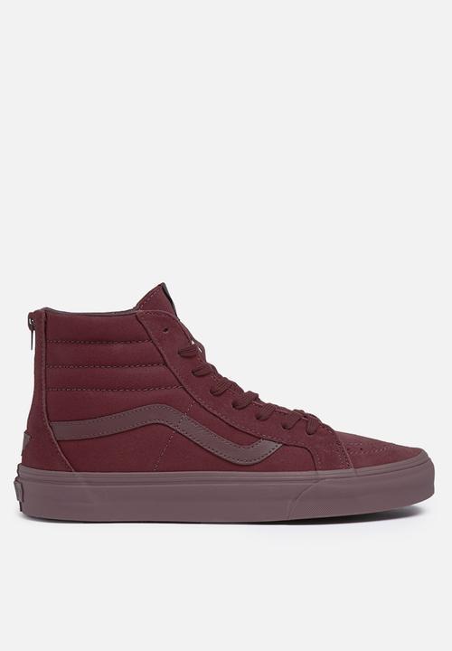 523bf8838b Vans SK8-Hi Reissue Zip - Mono Port Royale Vans Sneakers ...