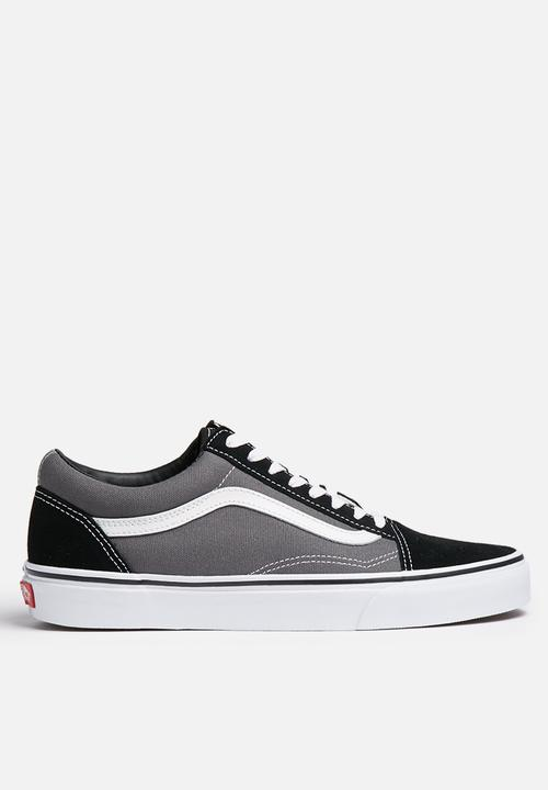 Vans Old Skool - Black   Pewter Vans Sneakers  60ba47271