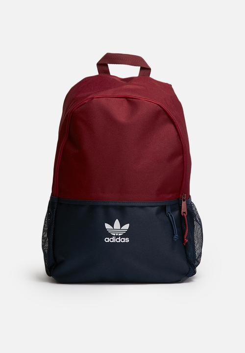 023dcf9d37bb Backpack essential ac - collegiate burgundy   collegiate navy adidas ...