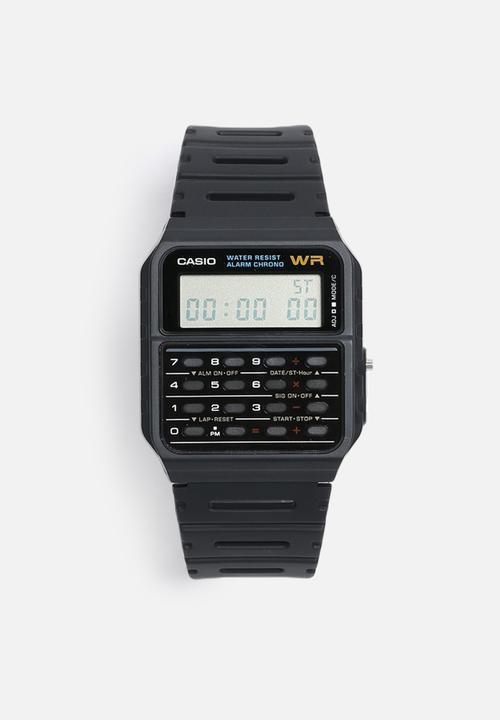 Digital Calculator Black Casio Watches Superbalist Com