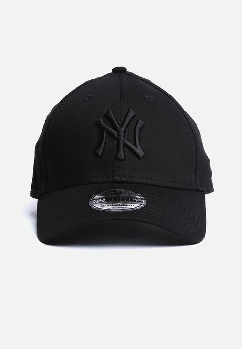 3c7bd1de49531a 39THIRTY League NY Yankees - All Black New Era Headwear ...