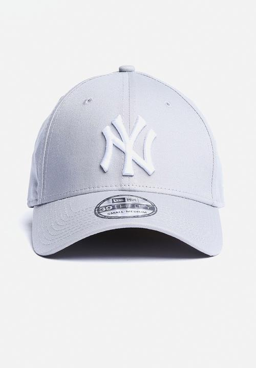 fafaadd4a95 39THIRTY League Basic New York Yankees - Grey New Era Headwear ...