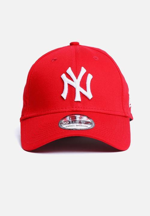 32e8ed3a1b886 39THIRTY Mlb League Basic NY Yankees - Scarlet Red New Era Headwear ...