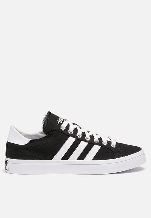 adidas Originals Court Vantage - S79302 - Core Black   Ftw White ... 36655bd40