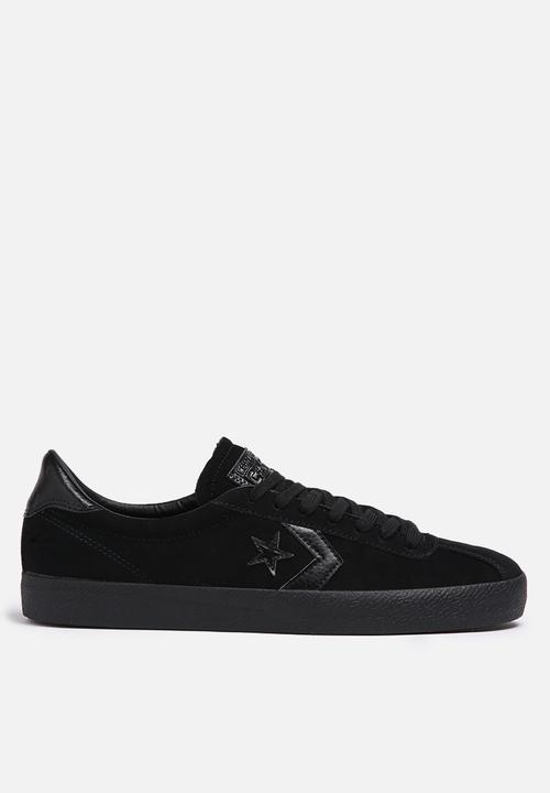 ab6b4d41716c95 Converse Breakpoint OX Suede - Black   Black Converse Sneakers ...