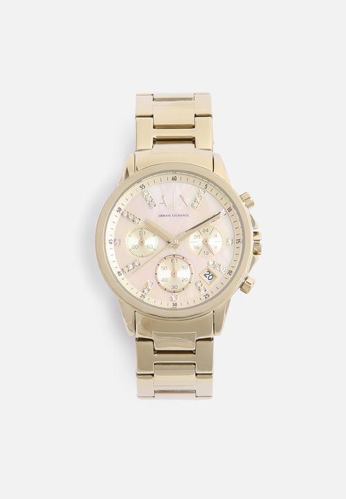 5bb601c90b1 Lady Banks-AX4327-gold Armani Exchange Watches | Superbalist.com