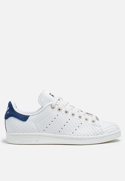 4e9158827b2 adidas Originals W Stan Smith Textured - S32259 - White   Coll Navy ...