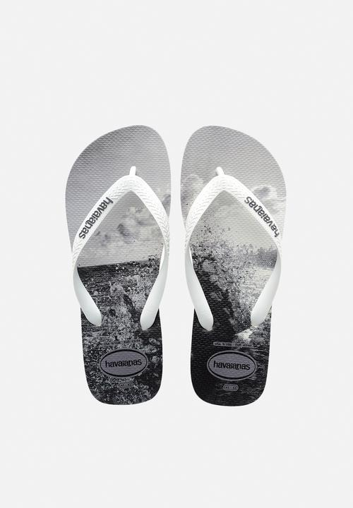 5a6f87e4f029aa Hype - white   white   grey Havaianas Sandals   Flip Flops ...