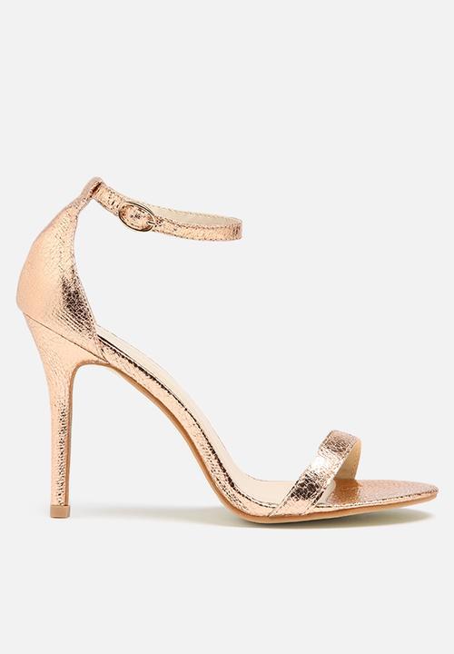 ee4ab23b985 Catrina - Rose Gold Glamorous Heels
