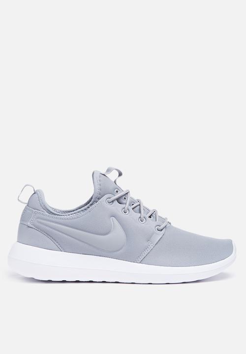 14c9f0bb3343 Nike W Roshe Two - 844931-001 - Wolf Grey   White Nike Sneakers ...
