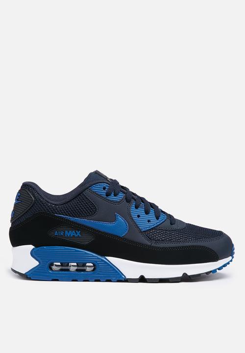 46ebe4f6fb73 Nike Air Max 90 ESS - 537384-417 - Dark Obsidian   Court Blue ...