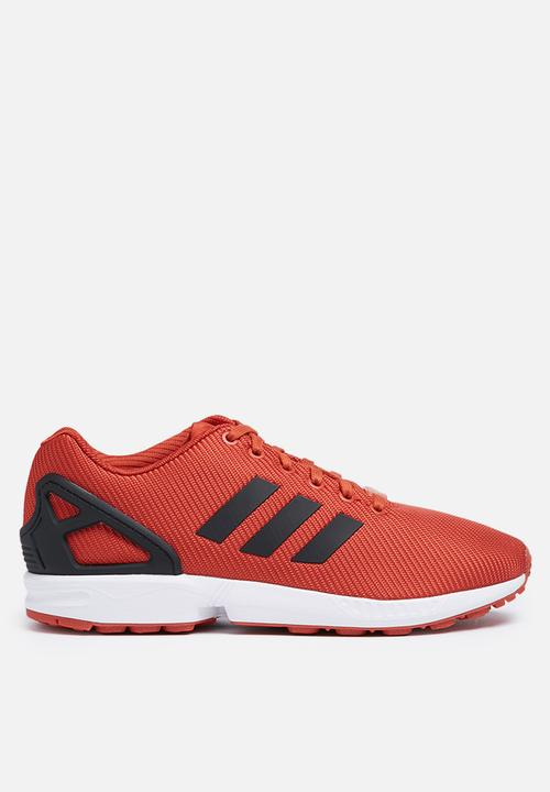 c5cfd0fed295b adidas Originals ZX Flux Basket Weave - S31521-Chilli  Blk Ftwr Wht ...