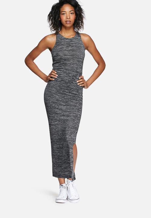 4f02c223dc Essential split maxi dress - black twist Superdry. Casual ...