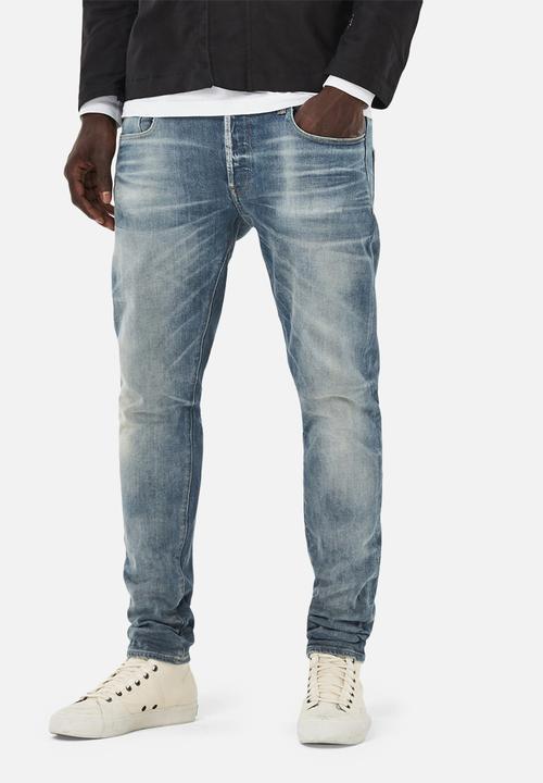d81c532ae62 3301 slim - medium aged vekos stretch denim G-Star RAW Jeans ...