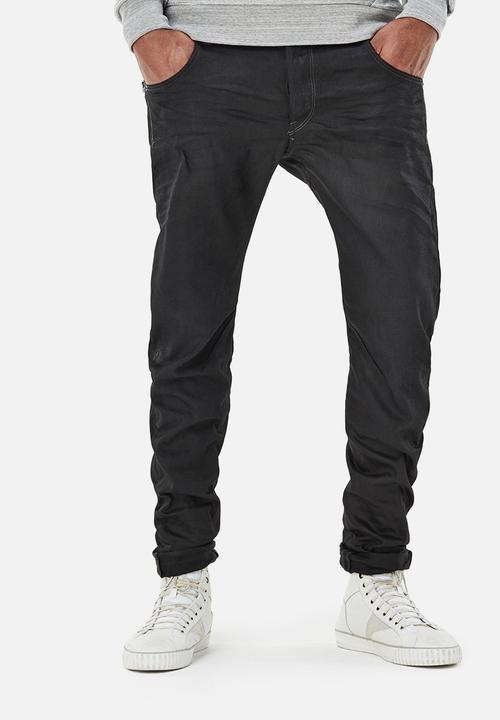 84e1894fcd5c1 Arc Zip 3D slim - medium aged - hoist black denim G-Star RAW Jeans ...