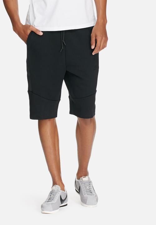 Tech fleece shorts - black 2.0 Nike Sweatpants   Shorts ... e5b2d39233fc