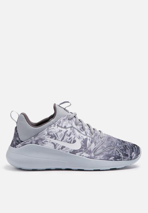 8040802c72f592 Nike W Kaishi 2.0 Print - 833667-010 - Wolf Grey   White Nike ...