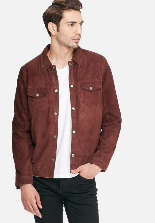 7c56950257f65 Pen suede jacket - fudge Selected Homme Jackets | Superbalist.com