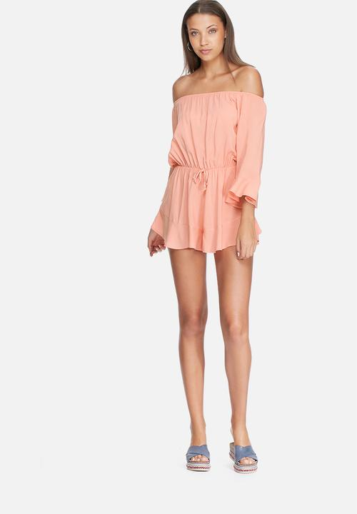 61ed6aa7866c Playsuit - light coral dailyfriday Jumpsuits   Playsuits ...