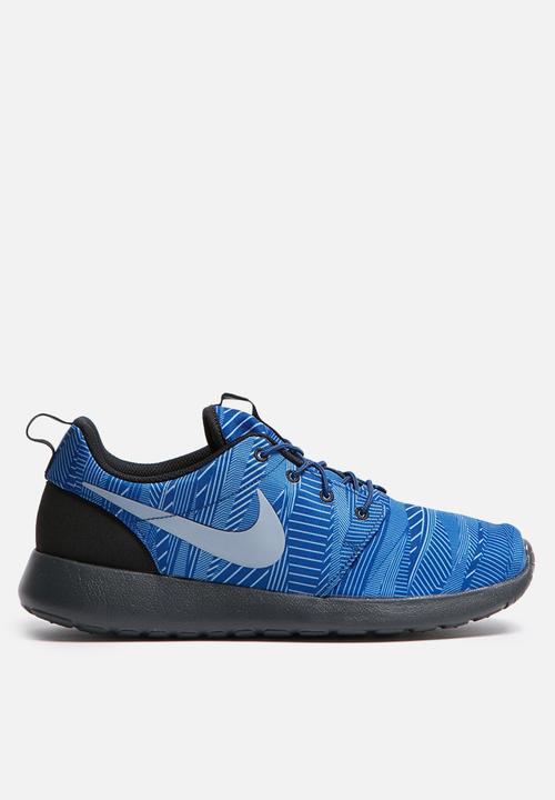0684858fc54ad Nike Roshe One Print - 655206-401 - Blues Nike Sneakers ...