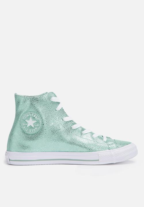 54bb40644398 Converse CTAS HI Stingray - Metallic Glacier   White - 553445C ...